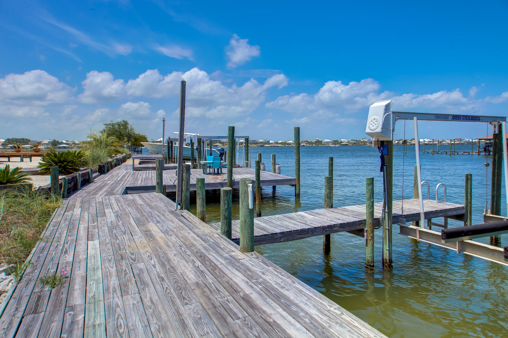 Enjoy a Relaxing Walk Alone the Boat Docks.