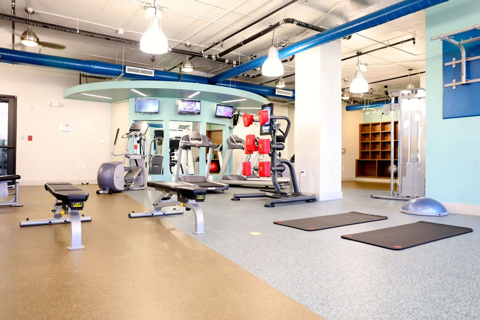 Community Fitness Center.