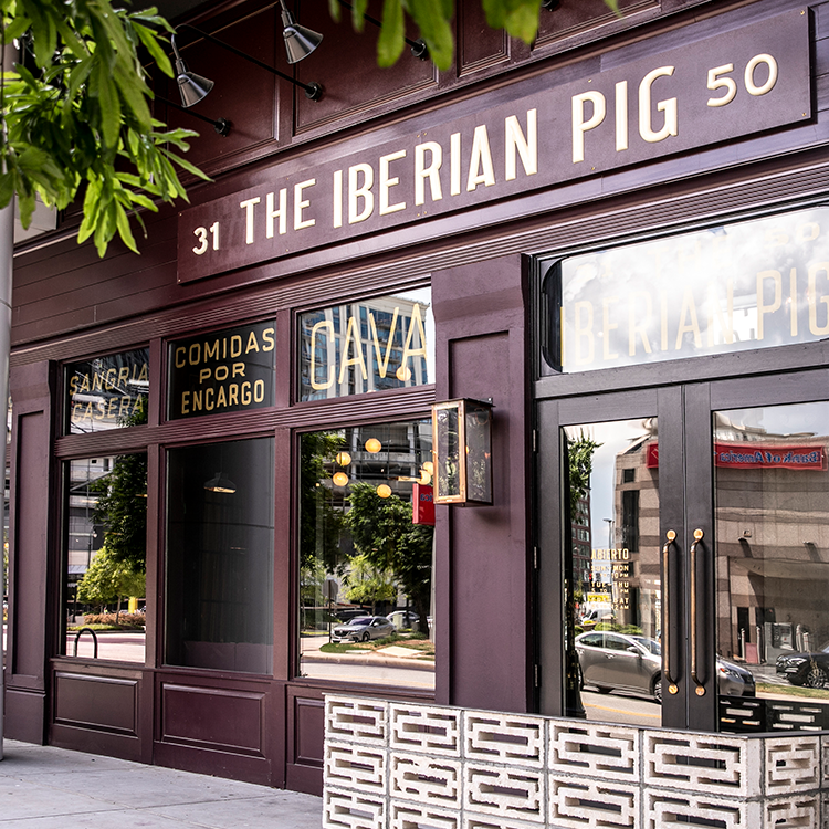 Exterior of The Iberian Pig in Buckhead