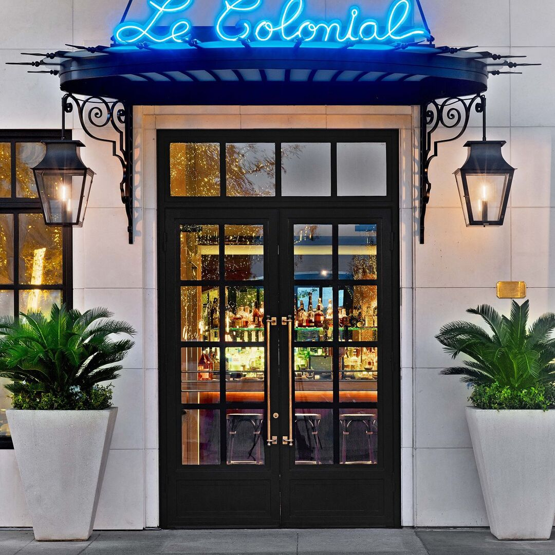 Front Entrance of Le Colonial at the Shops at Buckhead
