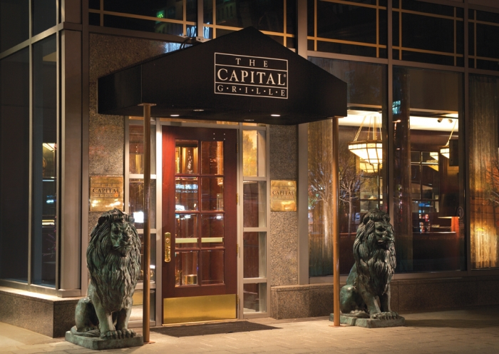 Exterior of the Capital Grill