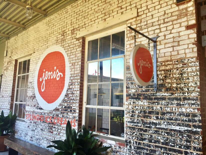 Jeni's Ice Cream Shop.