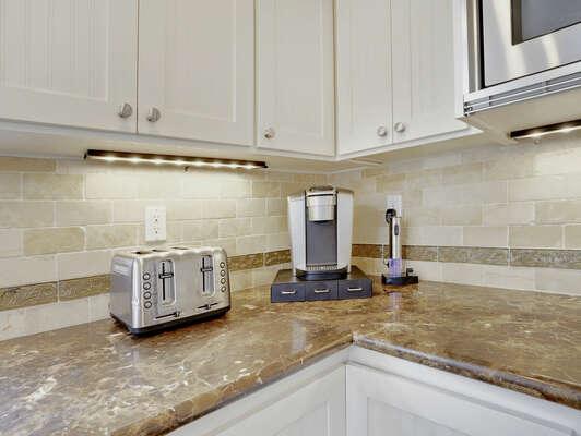 Kitchen Details - Second Floor
