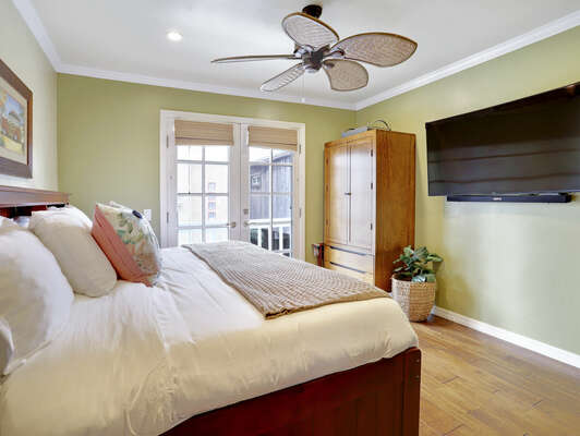 Guest Bedroom w/ Full + Twin Trundle, WFH Desk Space – Second Floor