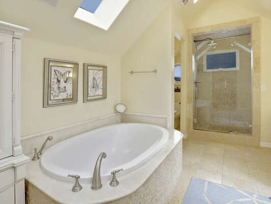 Master En-Suite Bathroom w/ Tub - Third Floor