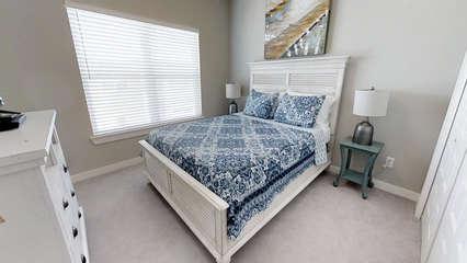 3rd floor QUEEN Bedroom with flat screen TV & DVD