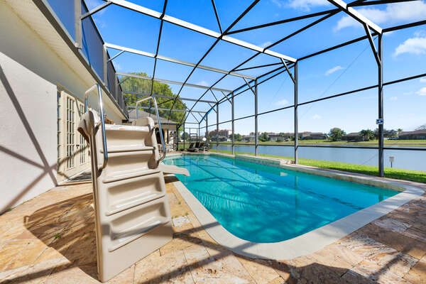 Take advantage of your own private pool