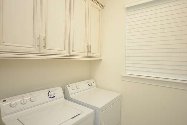 Your own washer and dryer in the home