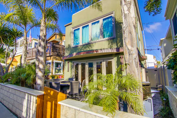 Exterior Image of San Diego Rental in Mission Beach.