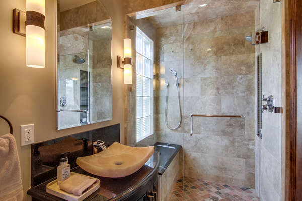 Full Bath - Second Floor