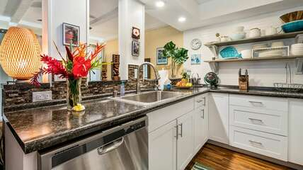 Completely updated and fully equipped kitchen