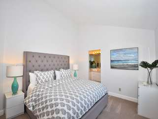 Master bedroom 1 - king bed and ensuite full bath