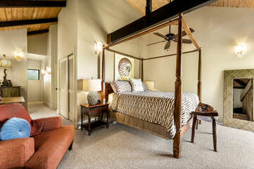 Main suite located on the 2nd floor