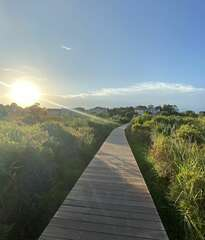 Enjoy the views from the beautiful boardwalks