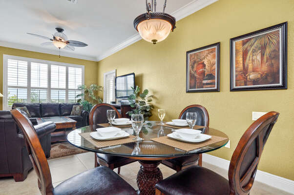 This comfortable oversized condo is perfect for your Orlando family vacation