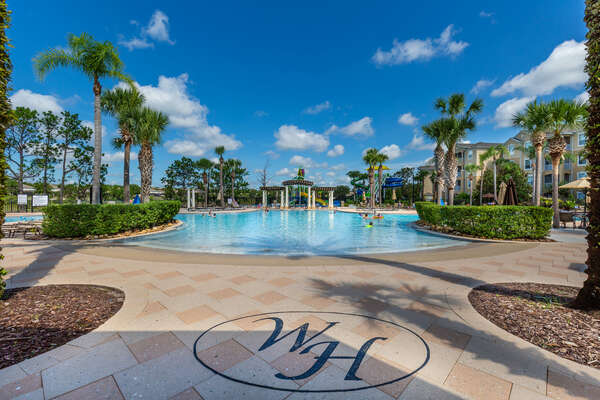 Enjoy the fantastic community pool only minutes away from your vacation rental