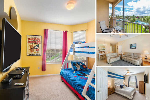 Welcome to Windsor Quarters, a 3 bedroom condo rental located in Windsor Hills Resort only miles away from Walt Disney World® Resort | PHOTOS TAKEN: August 2018