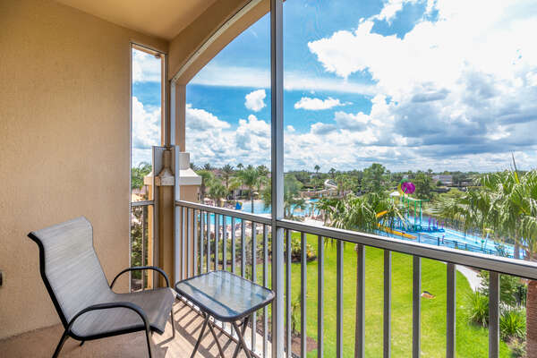 Take in the best view of Windsor Hills from your own private balcony