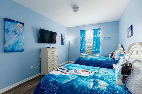 The kids will love their custom bedroom