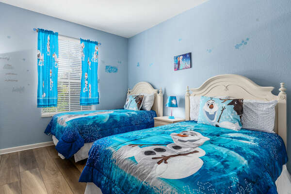 Magical details in the kids bedroom!