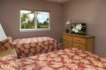Bedroom 3 with XL Twins convertible to King for a fee