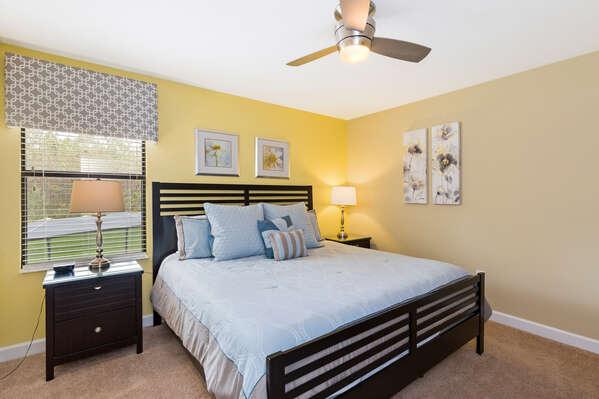Second floor king bed