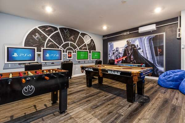 Spend your days playing in a galaxy far, far away
