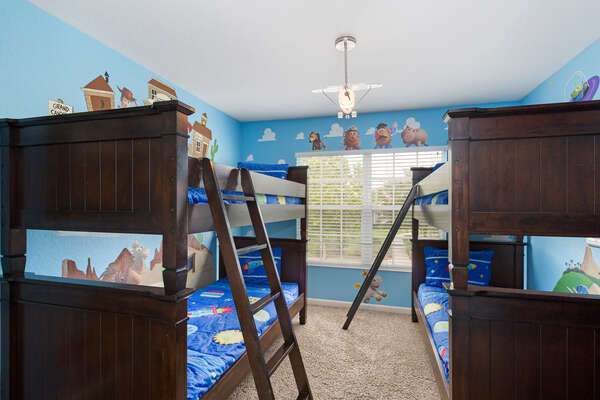 The little ones will have their own bedroom