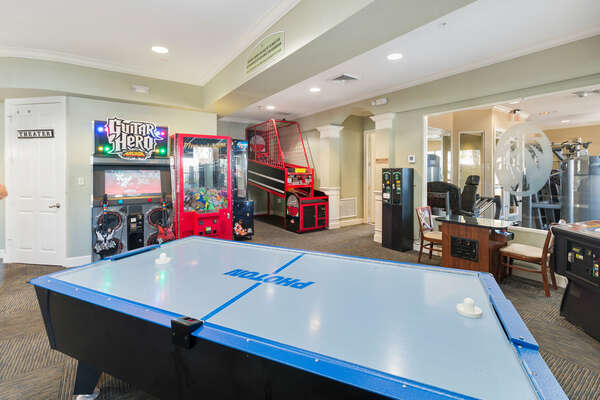 Perfect for the family to go hang out in the evenings and play games