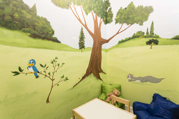 Kids will have their own special playroom