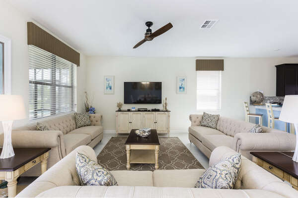 Kick back in this comfortable living room