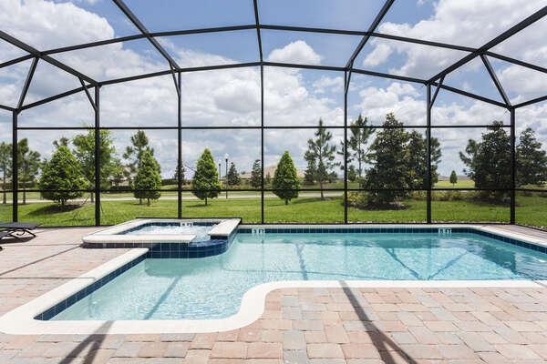 Soak up the Florida sunshine poolside