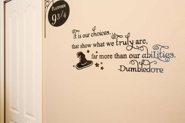 The Kids Bedroom features magical touches