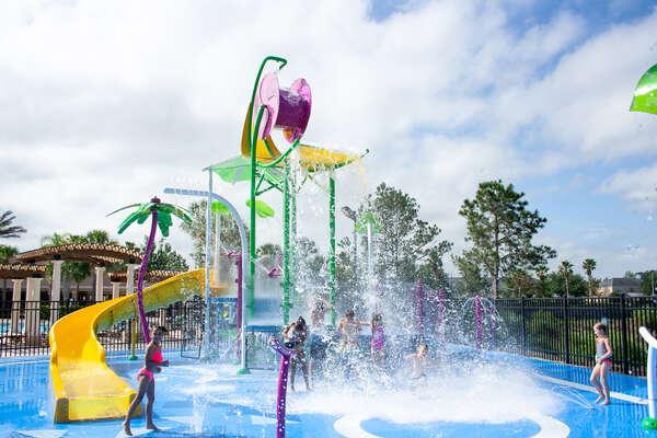 Splash Pad at Windsor Hills Resort