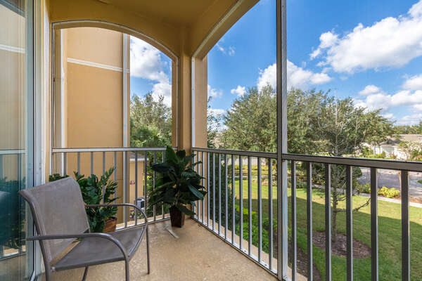 Enjoy the Florida weather from your own private screened-in balcony