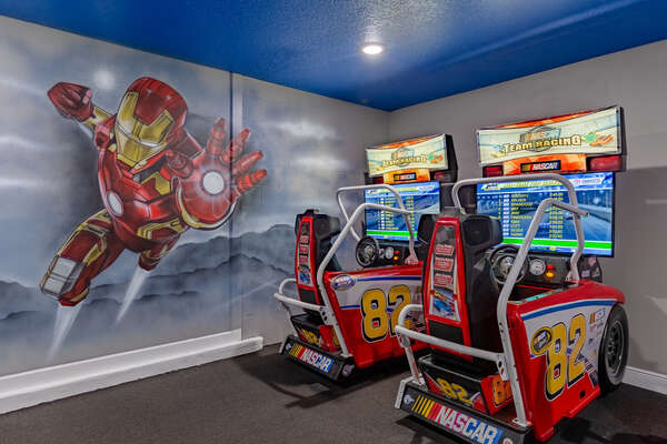 Have quality, family fun your whole vacation in this super game room