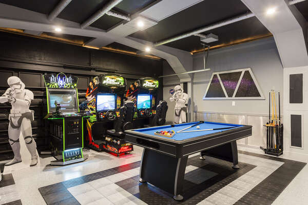 This fun room will be the place to hang out and make memories on your vacation