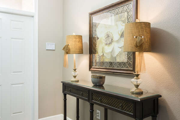 Enter into luxury from the moment you step into the home