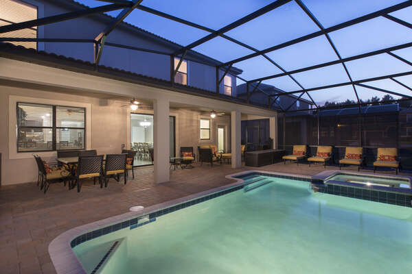 Relax anytime at your own outdoor oasis