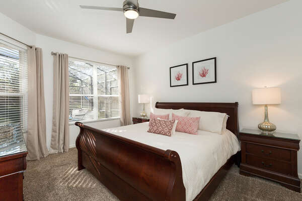 Master Suite 2 is located on the ground floor