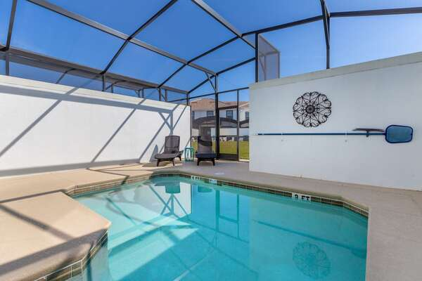 Enjoy the gorgeous Florida sunshine at this beautiful pool