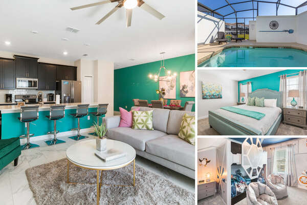 Oasis Escape is a 4 bedroom townhome perfect for your next vacation. | PHOTOS TAKEN: March 2019