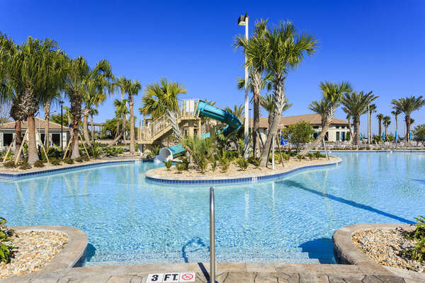 This amazing community pool is perfect for a fun-filled family day in the Florida sun