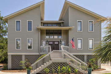 Welcome to 3702 Bonita Court-Stunning, remodeled beach home
