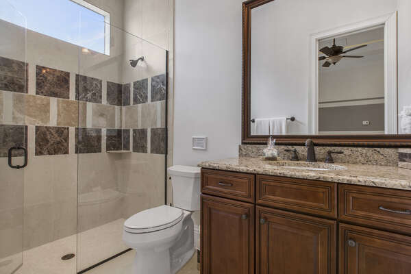 Have extra privacy whilst vacationing with your private en-suite bathroom