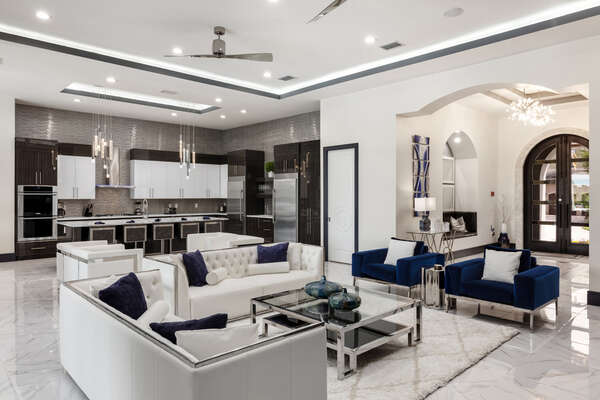 A large open-concept Family Room