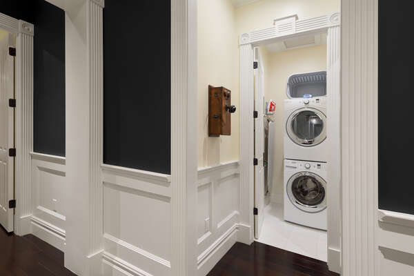 Another laundry room located on the second floor