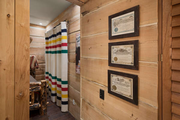 The details throughout is eye catching like this antique Wyoming gold mining certificates