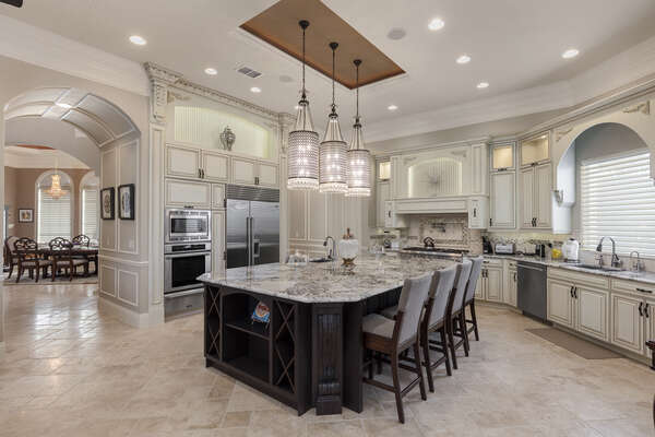 The chef in your family will love the fully equipped kitchen