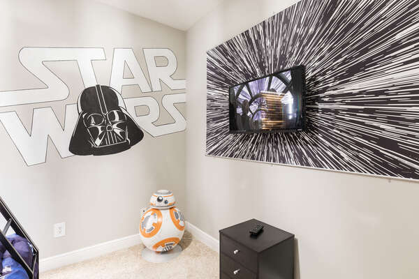 The kids will have their own TV on hyperspace